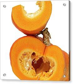 Pumpkins Acrylic Print by Bernard Jaubert