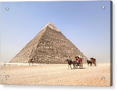 Pyramid Of Khafre - Egypt Acrylic Print by Joana Kruse