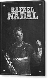 Rafael Nadal Acrylic Print by Semih Yurdabak