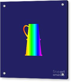Rainbow Stein Acrylic Print by Frederick Holiday