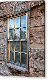 Reflections Of Time Acrylic Print by Sandra Bronstein