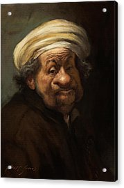 Rembrandt Acrylic Print by Court Jones