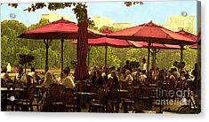 Restaurant In Georgetown Acrylic Print by Madeline Ellis