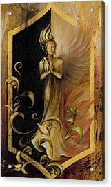 Revelation And Enlightenment Acrylic Print by Dina Dargo