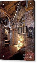 Rustic Restaurant Seating Acrylic Print by Jaak Nilson