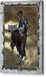 Saint Luke Acrylic Print by Granger