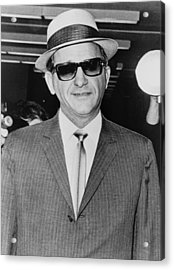 Sammy Giancana 1908-1975, American Acrylic Print by Everett