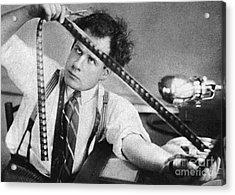 Sergei Eisenstein (1898-1948) Acrylic Print by Granger