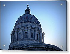 Show-me State Capitol Acrylic Print by Cricket Hackmann