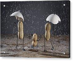 Simple Things - Taking A Walk Acrylic Print by Nailia Schwarz