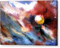 Small Planet Acrylic Print by Gene Garrison