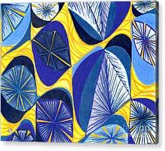 Solar Rays Acrylic Print by Kim Sy Ok