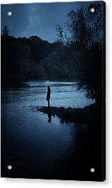 Solitude Acrylic Print by Cambion Art