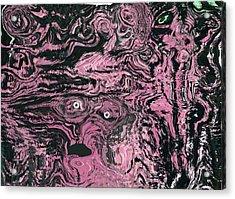 Soul Felt Acrylic Print by  Laurie Homan