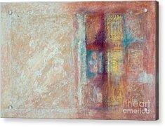 Spirit Matter Cosmos Acrylic Print by Kerryn Madsen-Pietsch