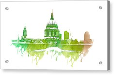 St Paul's Cathedral Acrylic Print by Martin Newman