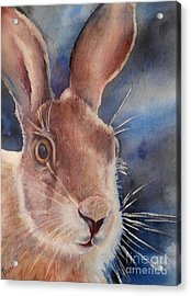 Surprise Acrylic Print by Patricia Pushaw