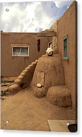 Taos Pueblo Acrylic Print by Jerry McElroy