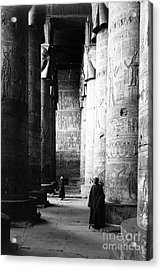 Temple Of Hathor, Early 20th Century Acrylic Print by Science Source