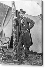 The Civil War. Ulysses S. Grant. 1864 Acrylic Print by Everett