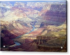 The Colorado River And The Grand Canyon Acrylic Print by Annie Griffiths