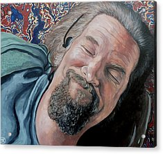 The Dude Acrylic Print by Tom Roderick