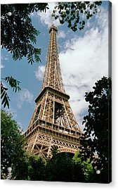 The Eiffel Tower, Paris Acrylic Print by Martin Diebel