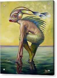 The Finandromorph Acrylic Print by Patrick Anthony Pierson