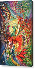 The Flowers And Fruits Acrylic Print by Elena Kotliarker
