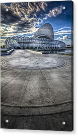 The Future Is Now Acrylic Print by Marvin Spates