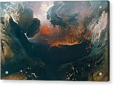 The Great Day Of His Wrath Acrylic Print by John Martin