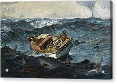 The Gulf Stream Acrylic Print by Winslow Homer