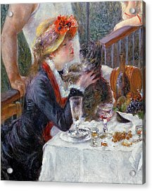 The Luncheon Of The Boating Party Acrylic Print by Pierre Auguste Renoir