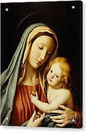 The Madonna And Child Acrylic Print by Il Sassoferrato