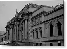 The Metropolitan Museum Of Art Acrylic Print by Christopher Kirby