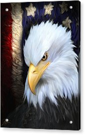The Patriot Acrylic Print by Joel Payne