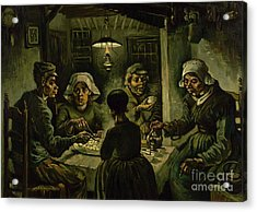 The Potato Eaters, 1885 Acrylic Print by Vincent Van Gogh