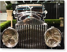 The Rolls Royce Acrylic Print by Wingsdomain Art and Photography