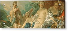 The Toilet Of Venus Acrylic Print by Francois Boucher