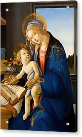 The Virgin And Child Acrylic Print by Mountain Dreams
