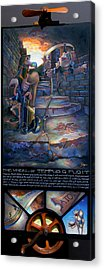 The Wheel Of Tempus Q. Fugit Acrylic Print by Patrick Anthony Pierson