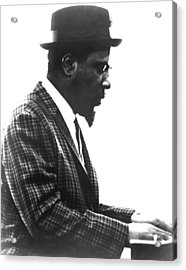 Thelonius Monk 1917-1982jazz Pianist Acrylic Print by Everett