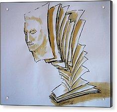 Theory Acrylic Print by Paulo Zerbato
