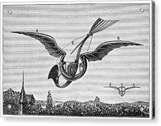 TrouvÉs Ornithopter Acrylic Print by Granger