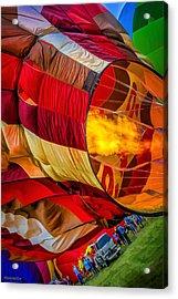 Metamora Hot Air Balloon Festival Acrylic Print by LeeAnn McLaneGoetz McLaneGoetzStudioLLCcom