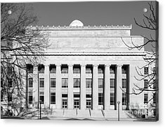 University Of Michigan Angell Hall  Acrylic Print by University Icons