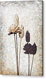 Vintage Floral 1 Acrylic Print by Al Hurley
