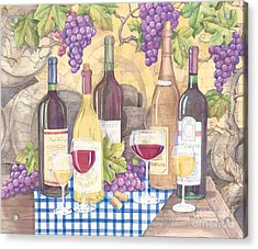 Vintage Wine I Acrylic Print by Paul Brent