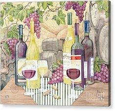 Vintage Wine II Acrylic Print by Paul Brent