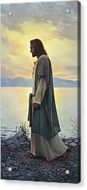 Walk With Me  Acrylic Print by Greg Olsen